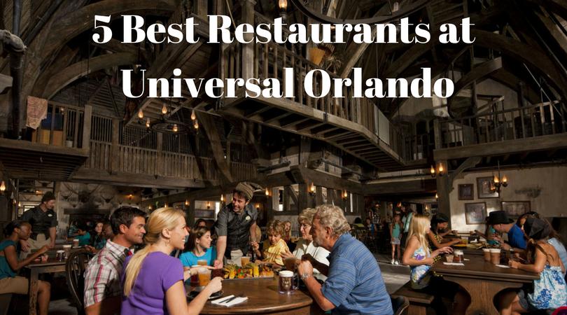 5 Best Restaurants at the Universal Orlando
