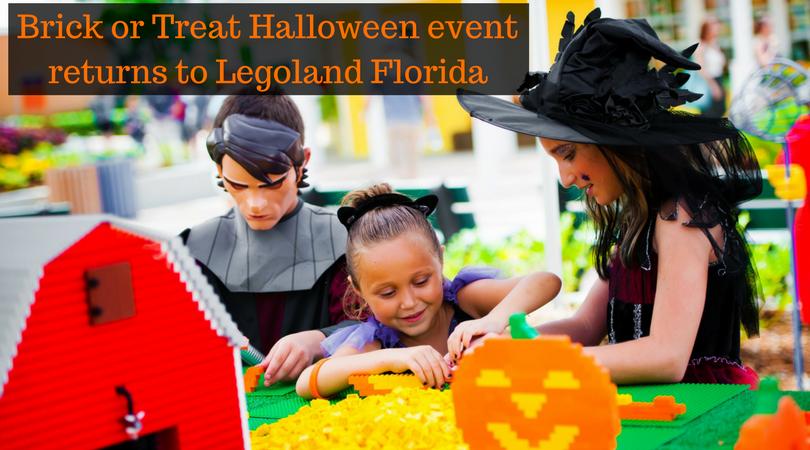 Brick or Treat Halloween event returns to Legoland Florida