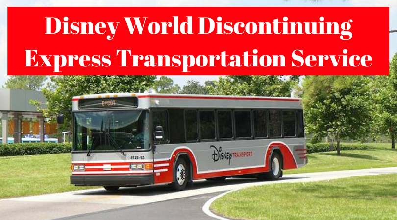 Disney World Discontinuing Express Transportation Service (1)