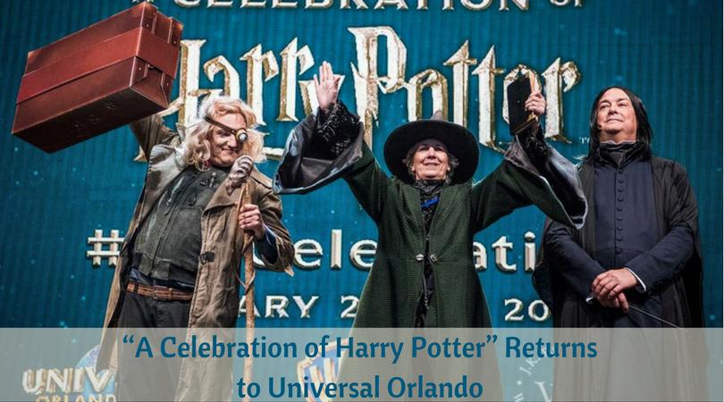 """A Celebration of Harry Potter"" Returns to Universal Orlando"
