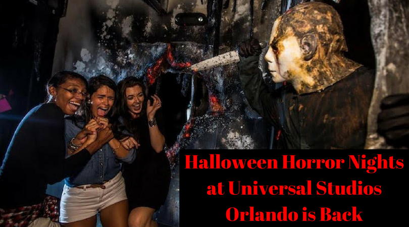Halloween Horror Nights at Universal Studios Orlando is Back