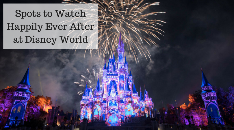 Spots to Watch Happily Ever After at Disney World