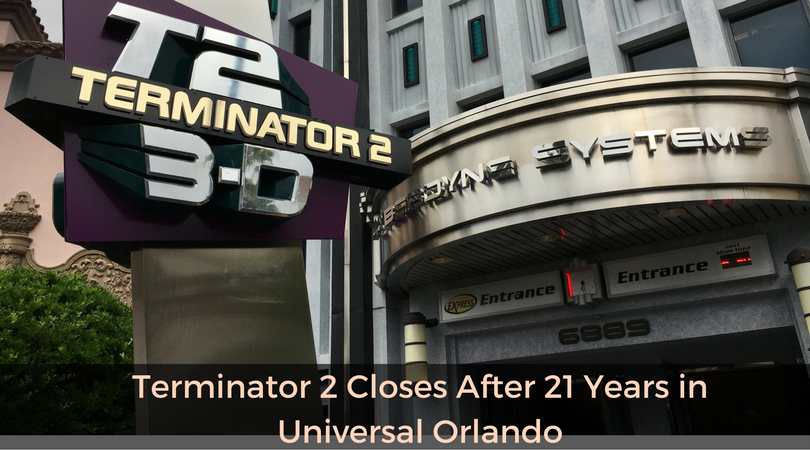 Terminator 2 Closes After 21 Years in Universal Orlando